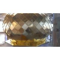 Золочение куполов