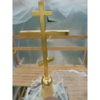 Золочение Крестов